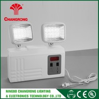 Best Price Rechargeable Emergency Light Circuit , Abs Emergency Two Head Light