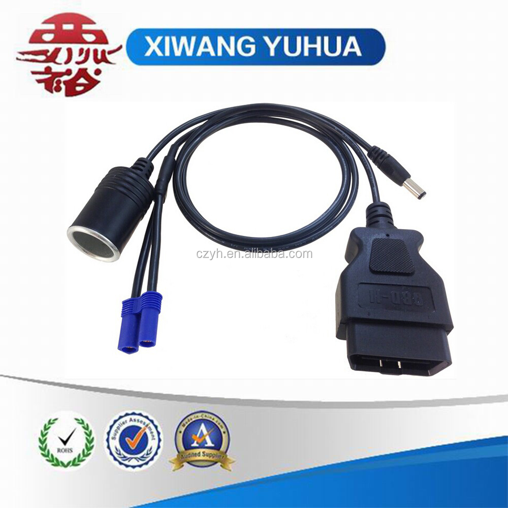 EC5 to OBDII adaptor with different length on demand