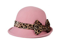 China factory directly ladies cheap new design wool felt hat for wholesale