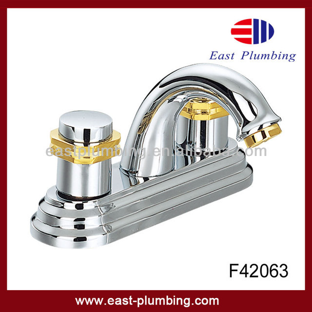 American style UPC Eastplumbing Sink Chrome Lavatory Faucets F42063