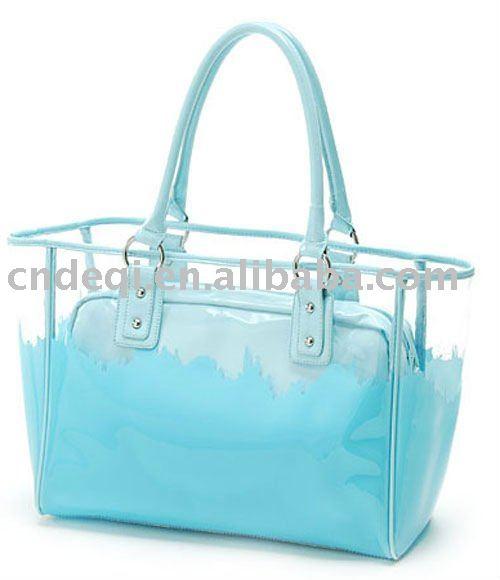 New Design Waterproof Pvc Beach Bag Handbag - Buy Beach Bag ...