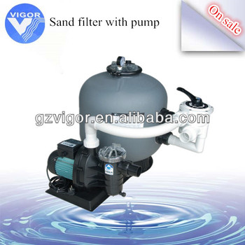 Portable pool sand fiter house sand filter pool for Portable pond filter