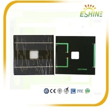 Reliable performance poly ABS plastic frame 6 volt solar panel
