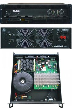 G25 (2x1500 watt) power amplifier