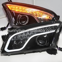 For CHEVROLET Trax Head Lamp Black Housing 2013-2014 Year LF