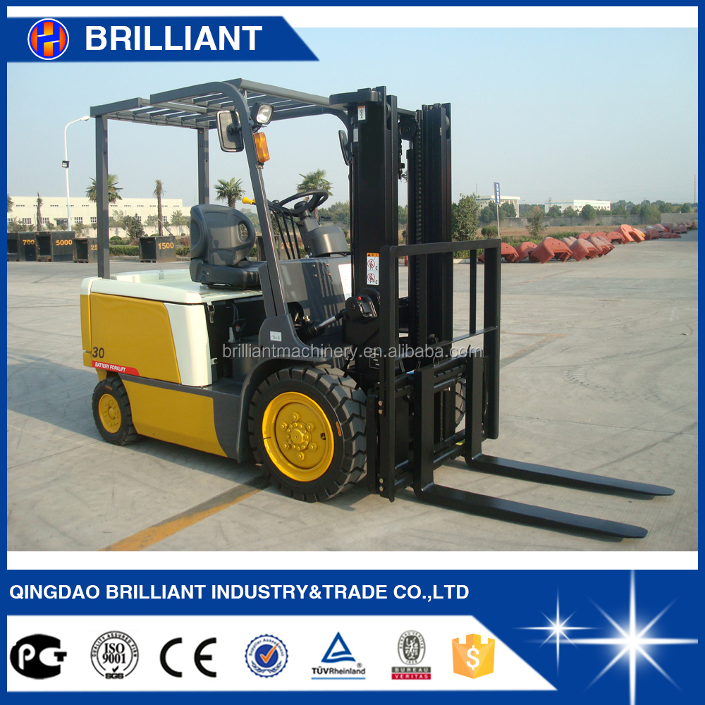 3ton Small Forklift Dc Motor Electric Forklift Charger