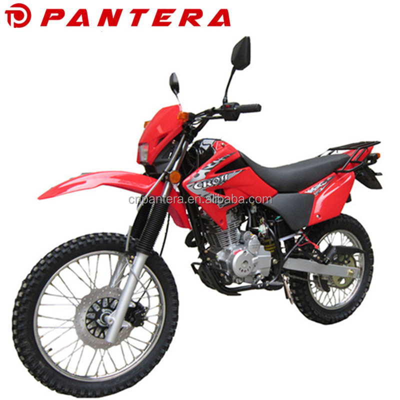 2016 China Dirt Bike 4-Stroke 150cc 200cc 250cc Powerful Engine Motorcycle For Adult