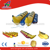 PVC inflatable boat water banana boat factory
