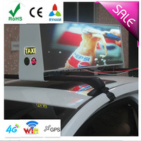P5mm 3G/4G/wifi/gps LED Taix Top Advertising,LED Taxi Top,Taxi top advertising led display free video x china