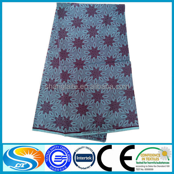 100% cotton imitation wax printed fabric common style