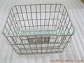custom titanium bicycle basket bike front rack titanium bike luggage basket