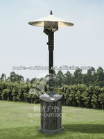 cast aluminium antique gas heater