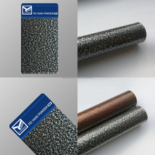 Hammer Texture Silver hybrid type Powder Coating