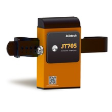 GPS container lock tracker JT705 lock unlock by bluetooth QR code on site and SMS software APP remotely