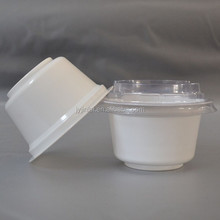 high quality plastic yogurt cup, disposable cup, transparent cup