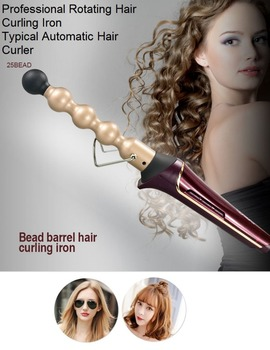 Newest!!!Automatic interchangeable hair Curling curler Hair Curlers Deep Wave Curling Iron Crimping Tool