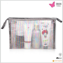 Vinyl Travel Transparent PVC Cosmetic Bag Clear, Wholesale Transparent Toiletry Bag, PVC Travel Makeup Bag Custom