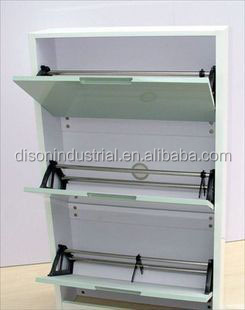MDF paint 3 doors shoe cabinet