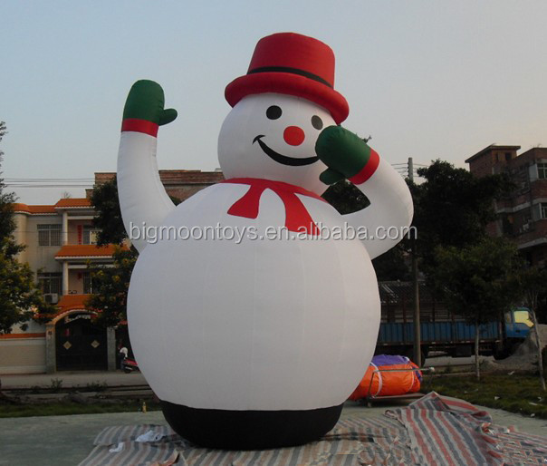 High Quality Outdoor Giant inflatable christmas products / inflatable dancing snowman