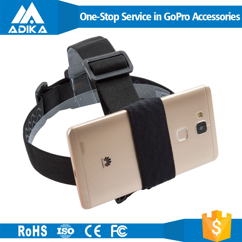 smartphone holder, action mount for any phone,smartphone head strap smartphone accessories holder for sport