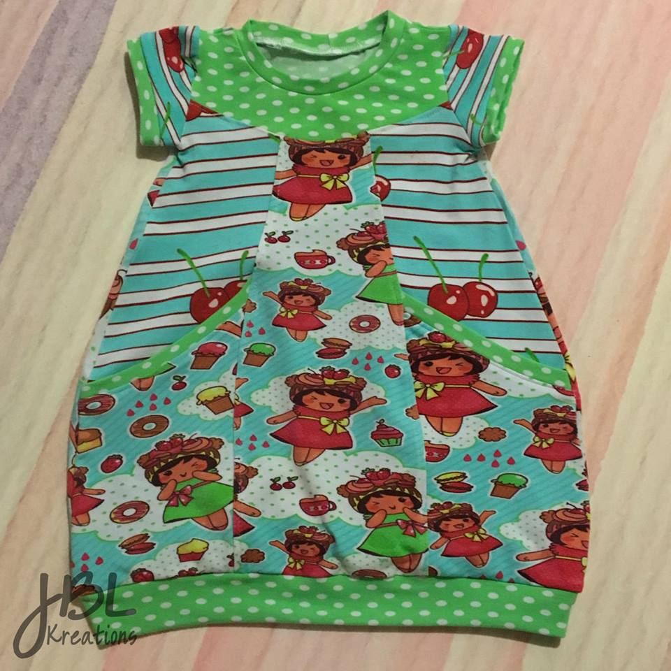 Children baby clothing cotton lycra single jersy printed for Kids dress fabric