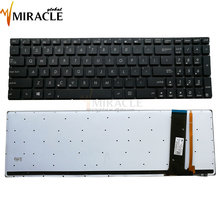 Laptop notebook keyboard for asus n56 US layout with backlight