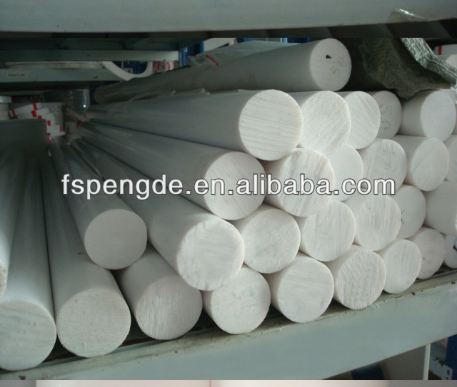 Solid Nylon plastic rod