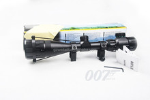 Tactical 4-16x40E Red Green Dot Illuminated Optical Shotgun Rifle Scope Sight 20mm Rail Mounts Hunting Airsoft Riflesco HT6-0017