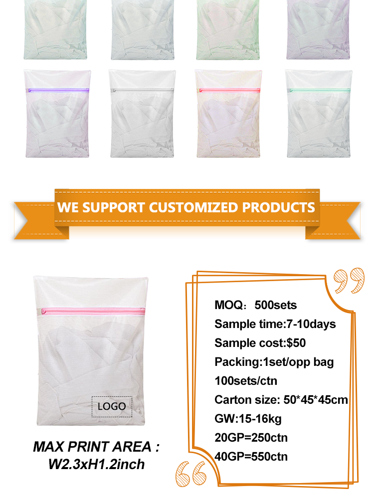 BSCI Sedex 4P Factory Audit Mesh Laundry Bag for Delicate