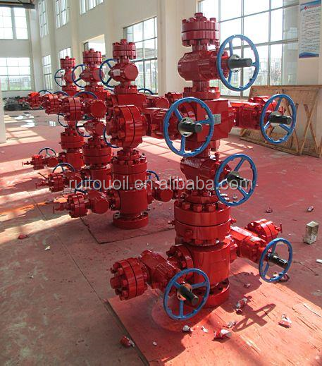 Oil Well Drill Equipment /API 6A Well Drill Chrismas Tree /Wellhead Chrismas Tree