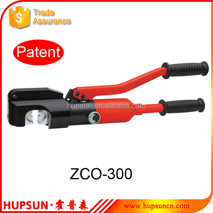 Crimping capacity 16-300mm2 ZCO-300 hydraulic cable lug crimping tool