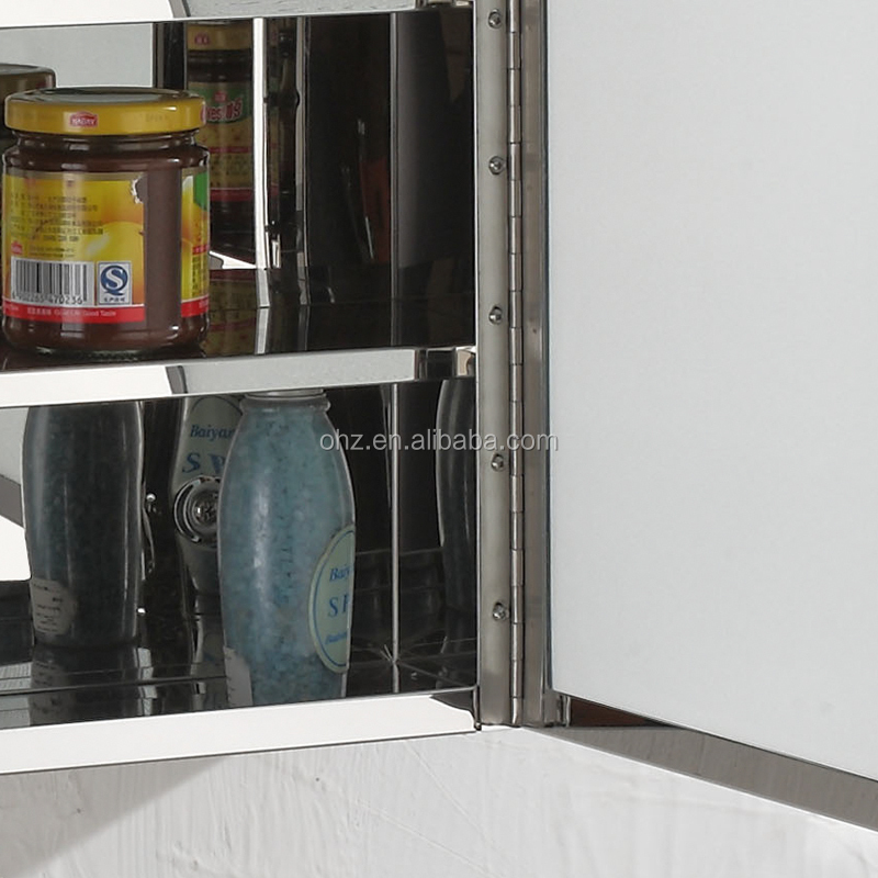7048 Eco-friendly stainless steel bathroom cabinet and medicine cabinet