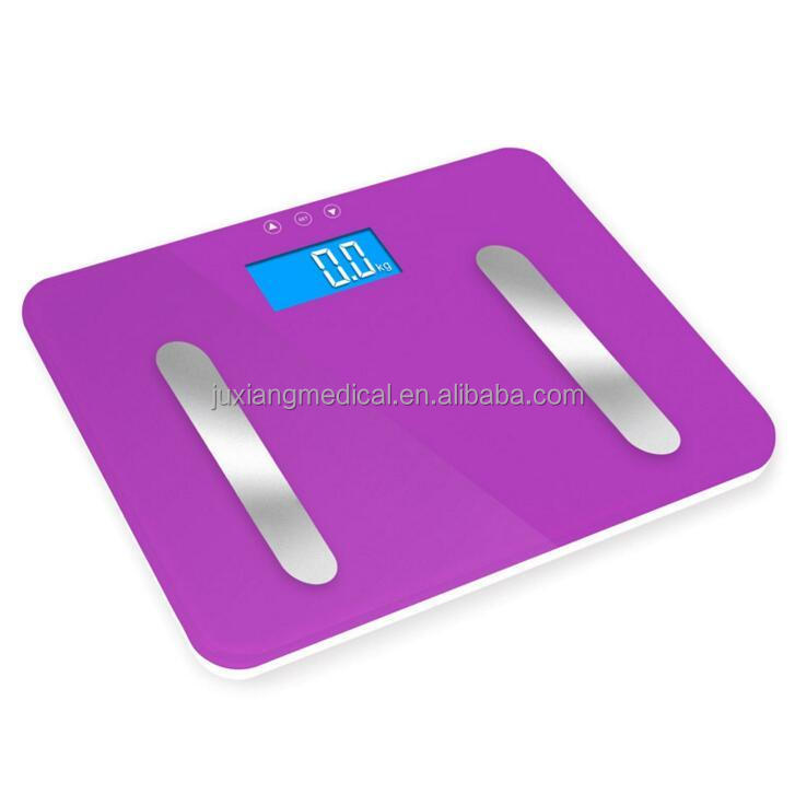 multi-function body fat scale portable & high precision