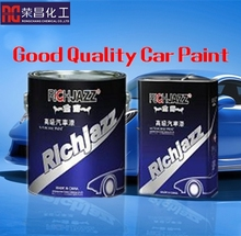 Jet Black Quality Acrylic Auto Paint