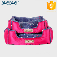 cool pink and brown colors with fashion design large big dog bed