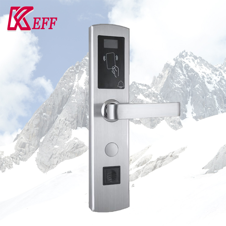 Card Swipe smart rf id wifi electronic door lock Factory supply 304 stainless steel