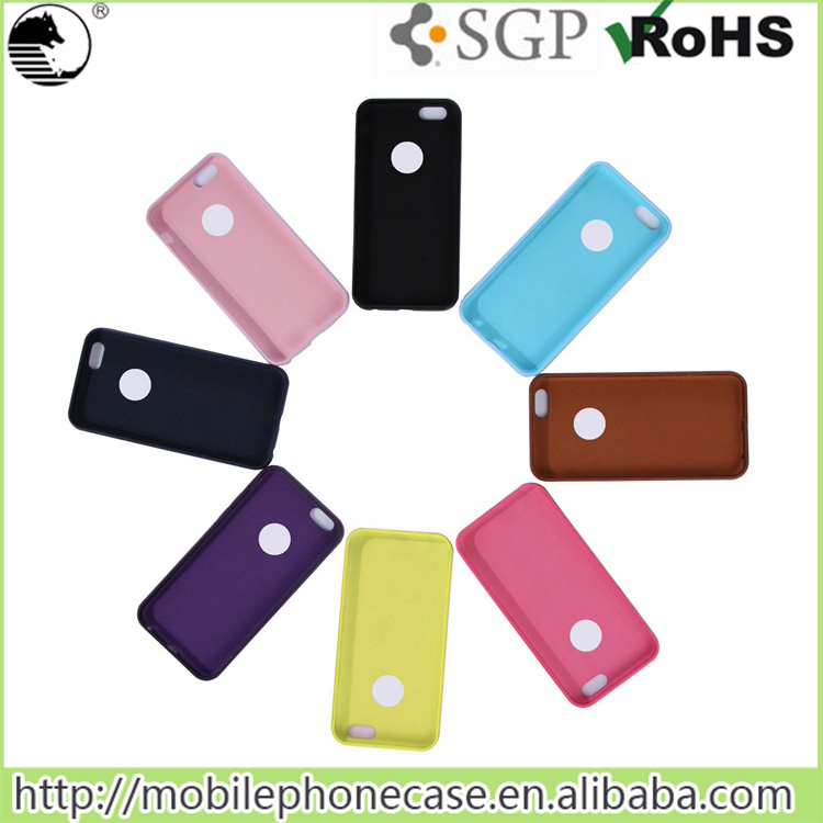 Colorful TPU case mobile phone cases for apple iphone 6 case 4.7 inch