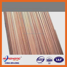 BCuP-2 copper phosphorus brazing rod/ring/wire manufacturing