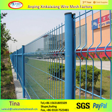 heavy gauge Galvanized PVC coated welded wire mesh fence panels