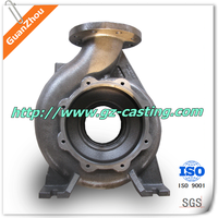 Alibaba express China foundry manufacturing OEM custom made pump cover machining parts auto parts grey ductile cast iron