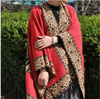 Winter Warm Large Paisley Jacquard Pashmina Poncho Shawl Wrap