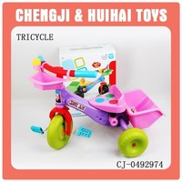 Cheap sliding plastic baby tricycle for kids ridde on car toy