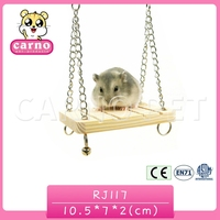 Carno wholesale wooden hamster swing hamster product