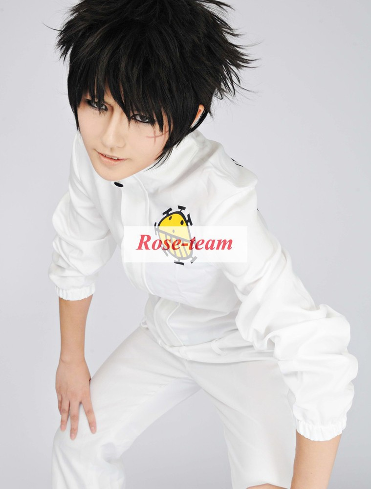 Rose-team Fantasia Anime Made One Piece Heart Pirates White Uniform Cosplay Costume