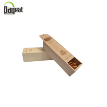 Custom Branded Logo Unfinished Small Wooden Boxes