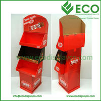 Recyclable Cardboard Paper Magazine Stand,Brochure Stand