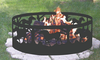 2016 portable Safety metal fire pit ring with best quality