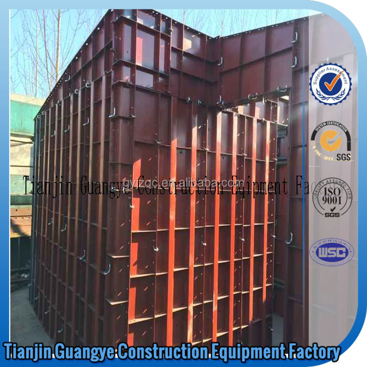 Tianjin GuangYe formwork system doka forms concrete wall moulding panel