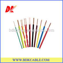 Solid or Stranded THW/TW Pvc Electric Cable UL Standard