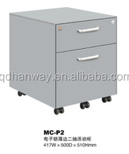 Office furniture table 3 drawers movable steel filing cabinet